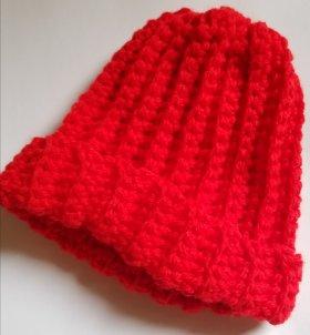 Bev S Stripey Newborn Hat