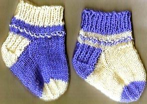 Crochet pedicure sock pattern
