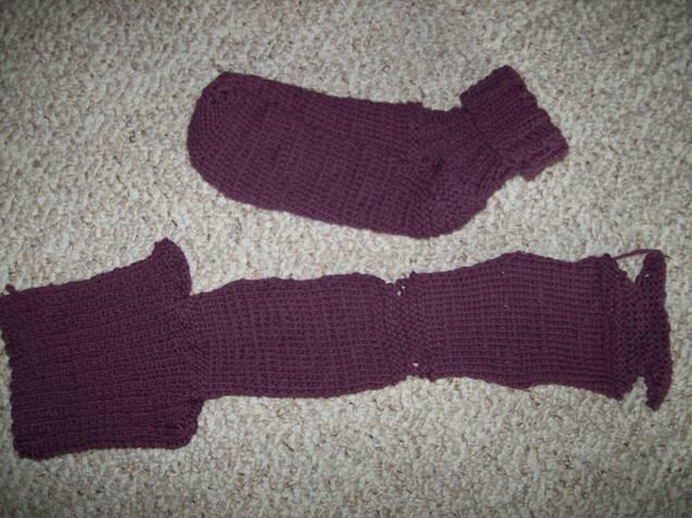 2 Needle Socks