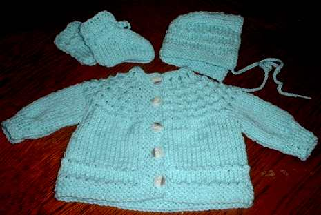 5 hours baby sweater