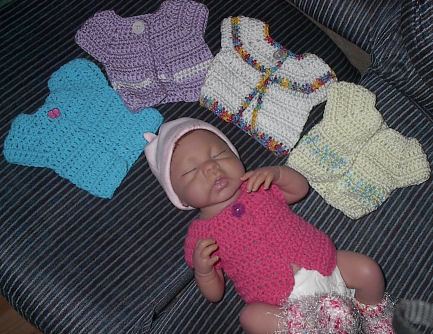 How To Crochet A Baby Vest And Hat Set Cute Shower Gift ...