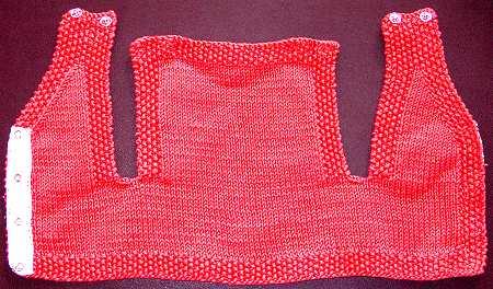 Free Knitting Pattern Baby Vest : INFANT VEST PATTERN The Best Patterns