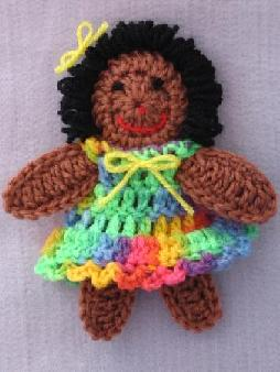 gAIL'S CROCHETED DOLL