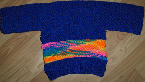 Bev's guideposts sweater