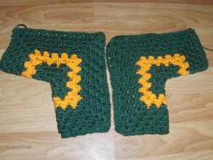 77ed50509 Hexagon Baby Sweater- Bev s Version