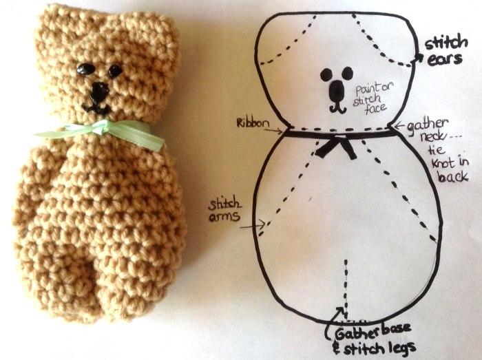 crochet bear stitches