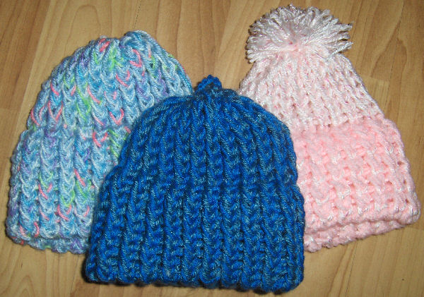 Loom Knit Baby Toque