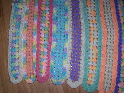 Crochet Stitches Mile A Minute : Bevs Mile-a minute afghan! (Or mile and HOUR!)