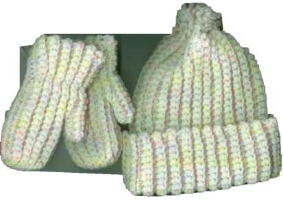 Educational Resources K 12 Crochet Easy Hat Scarf And Mittens Pattern