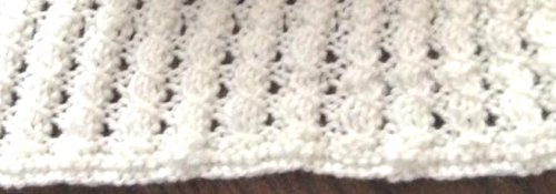 mock cable stitch