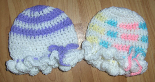 Crochet hat size for 3 year old
