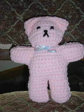 Knitted Heart Pattern Free : FREE CROCHET THREAD TEDDY BEAR PATTERNS - Crochet and Knitting Patterns