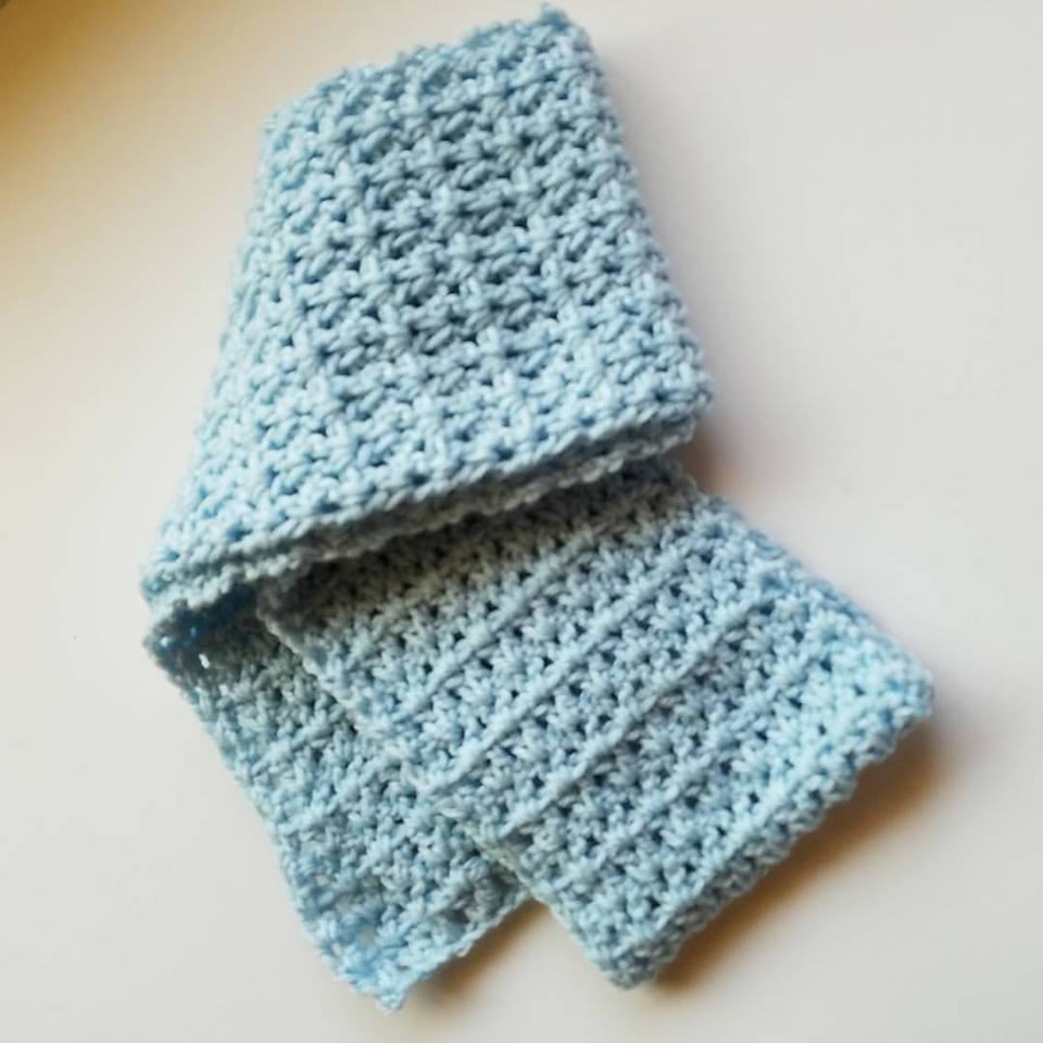 Women's Conference scarf- blue